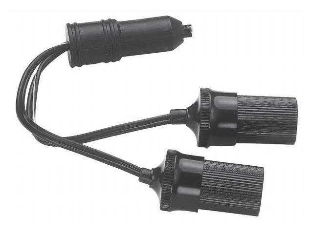 Custom Accessories 12 Volt Twin Plug-In Cigarette Lighter Sockets  70051