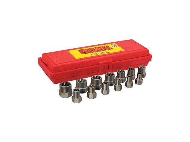 Irwin 585-54113 13 Piece Bolt Extractorset 1-4-3-4 Inch W-3-8 Inch Drv