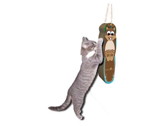 Imperial Cat 01004 Squirrel Hanging Cat Scratcher