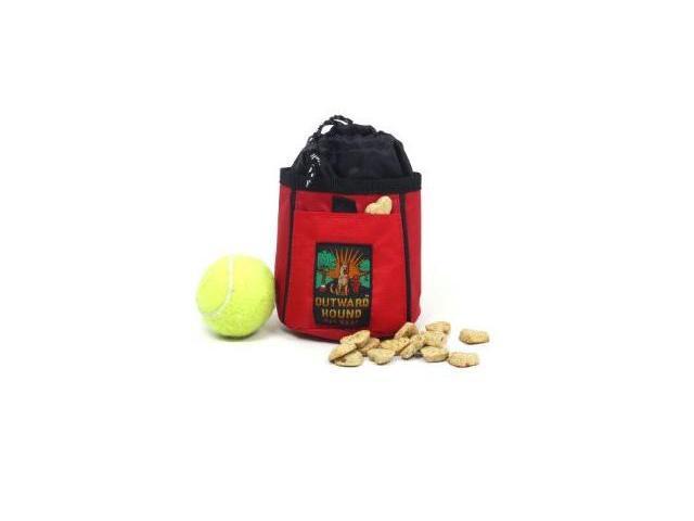 Kyjen Company KYOH05304 Treat N Ball Bag Red