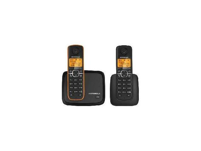 Motorola L602 is a DECT 6.0 cordless phone with 2 handset