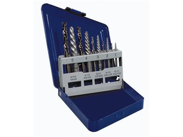 Irwin Hanson 585-11119 10 Pc Set Spiral Flute S