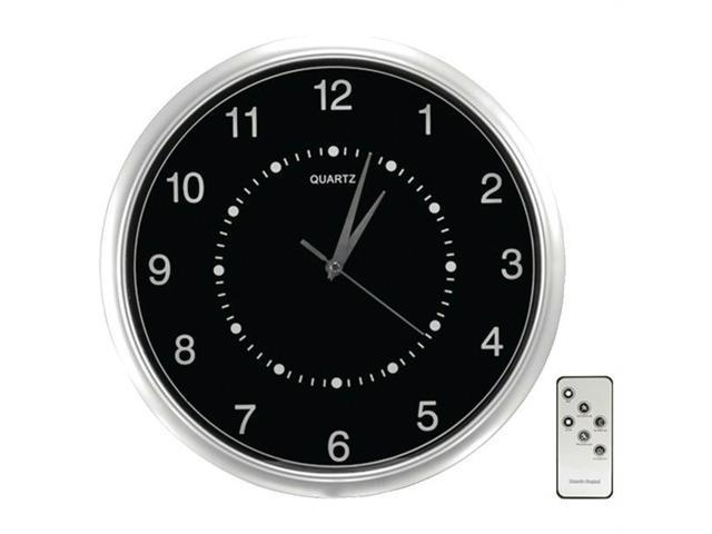 Securityman Clockcamdvr Wall-Clock Color Camera With Sd Recorder