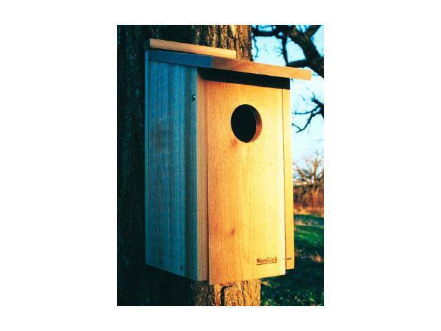 WoodLink OWL-KESTREL Screech Owl-Kestrel House