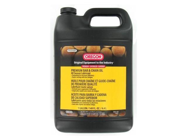 Oregon Chain 1 Gallon Chain Saw Bar & Chain Oil  54-059 - Pack of 4