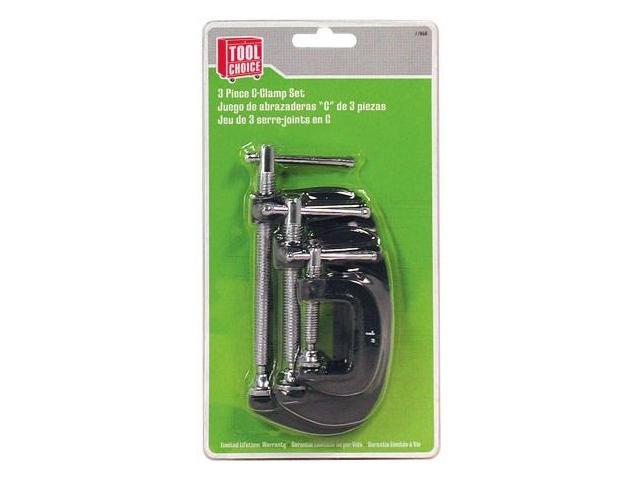 Great Neck Saw 3 Piece C Clamp Set  17656 - Pack of 4