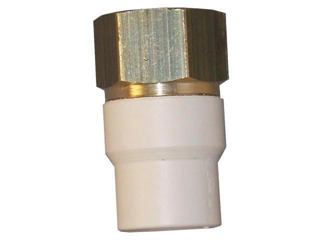 Genova Products .50in. Low Lead CPVC Transition Adapter FIP  57905Z