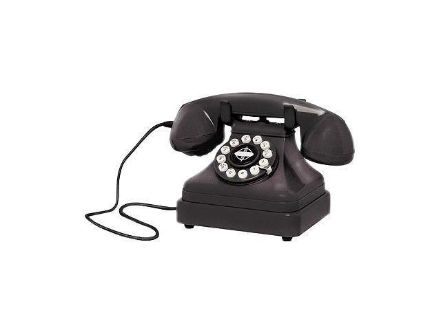 Crosley Radio Cr62-bk Kettle Classic Desk Phone - black