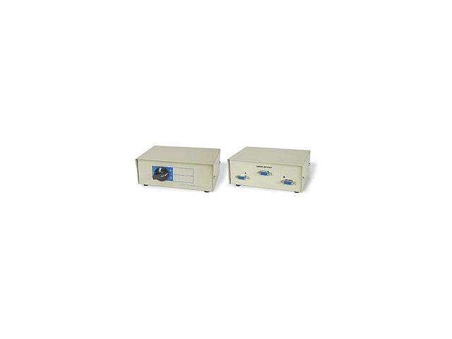 Ziotek 105 0186 2 To 1 VGA Switchbox DB15