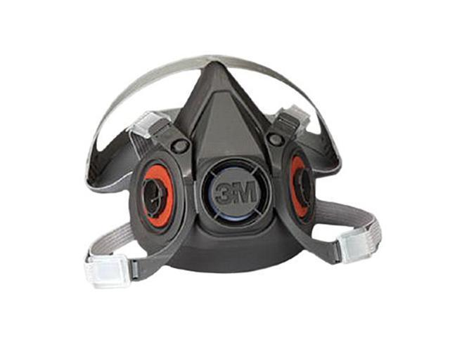 Half Facepiece Respirator Reusable Black/Gray