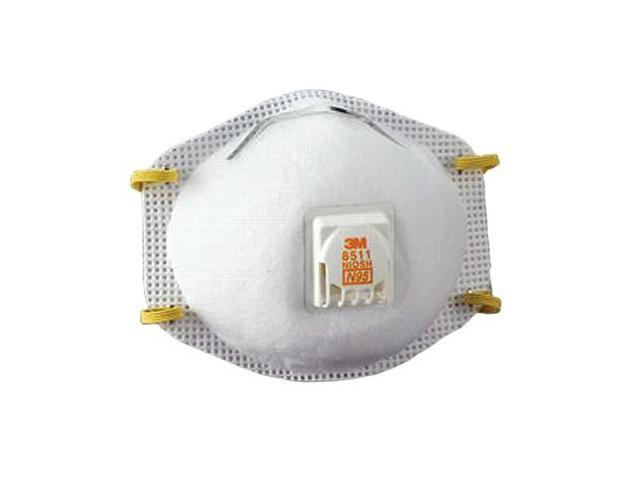 3M OH&ESD 142-8511 N95 Maint.Free Particulate Respirator