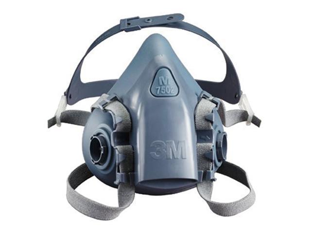 3M 7503 Half Facepiece Respirator 7500 Series, Reusable , Large, 1 Each