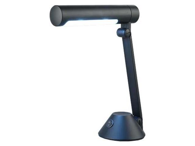Normande Lighting Blue Daylight Desk Lamp Black