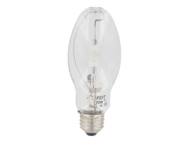 Feit 70 Watt Clear Metal Halide Light Bulb  MH70-U-MED