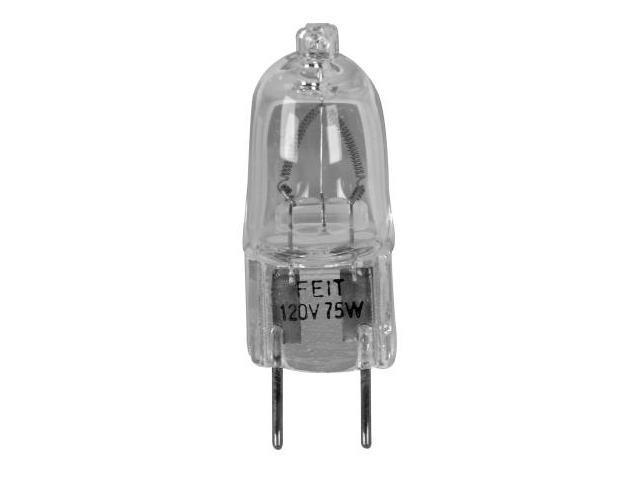 Feit 75 Watt Halogen Clear G8 Base 120 Volt  BPQ75-G8