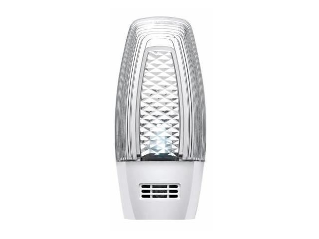 Leviton White LED Photocell Night Light  C21-48561-W