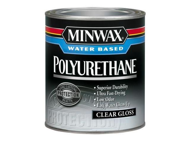 Minwax 50 Pint Gloss Minwax Water Based Polyurethane