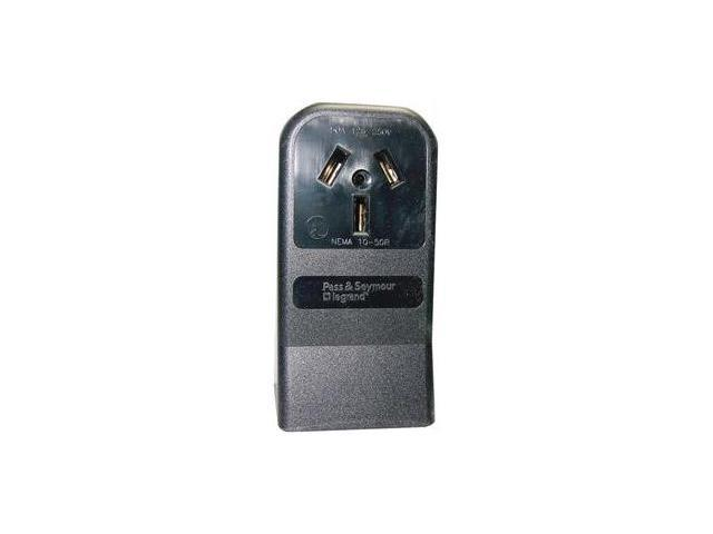 LEVITON 5050 SINGLE - SURFACE RANGE RECEPTACLE - 3 WIRE - 5050