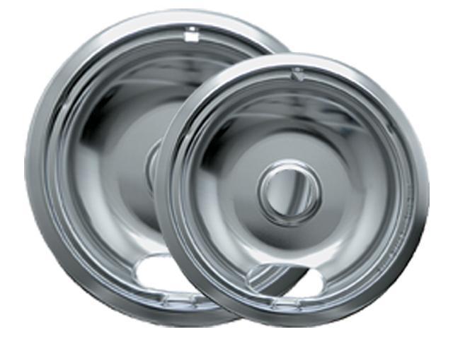 Range Kleen 12782Xcd5 Chrome Drip Pans - Plug-In Ranges; Fits Most Amana , Crosley , Frigidaire , M