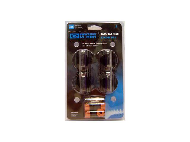 Range Kleen 8214 Gas Knob Kit - Four Pack - Black