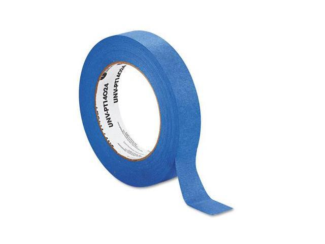 Universal PT14024 Premium Blue Masking Tape  1 in.x 60 Yards  Blue