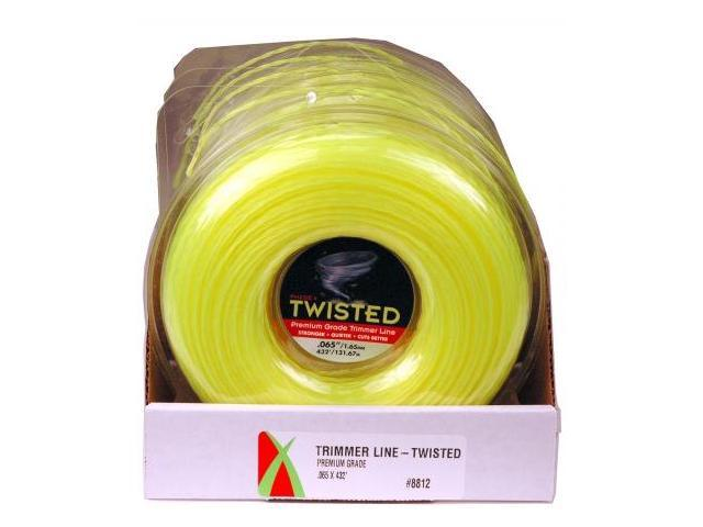 Maxpower Precision Parts 5 Piece PDQ Display .065in. x 420ft. Premium Twisted Trimme - Pack of 5