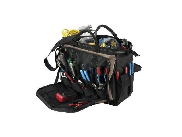 CLC Custom Leather Craft 201-1539 18 Inch Multi-Compartment Tool Carrier