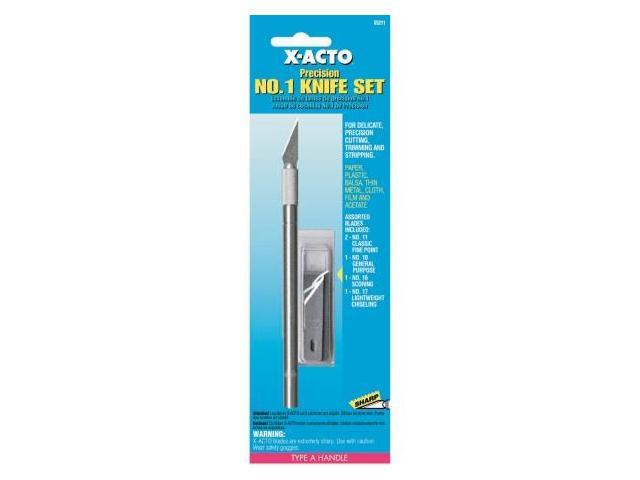 Elmers-xacto No. 1 Precision Knife & Blade Assortment X5211