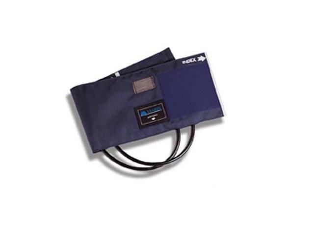 Mabis 05-260-011 Sphygmomanometer Cuff and Two-Tube Bladder - Blue Nylon Adult