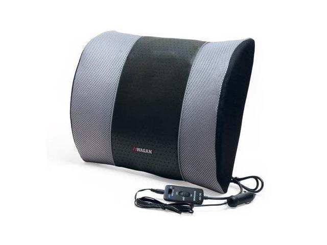 Wagan IN2514 12v Heated Massage Lumbar Cushion