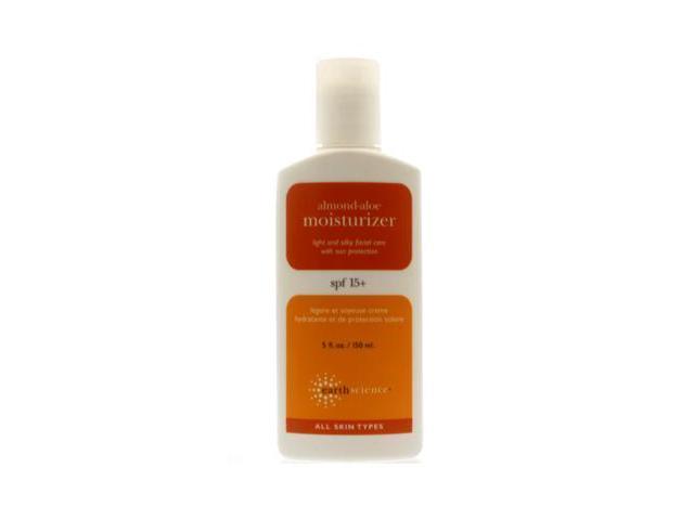 Moisturizer-Almond Aloe With SPF15 - Earth Science - 5 oz - Cream