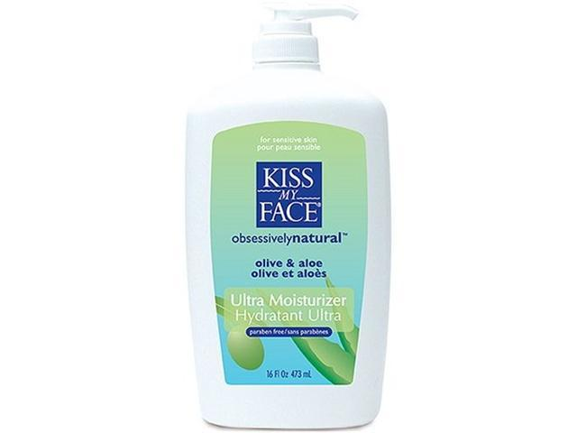 Olive & Aloe 2n1 Deep Moisturizing Lotion - Kiss My Face - 16 oz - Liquid