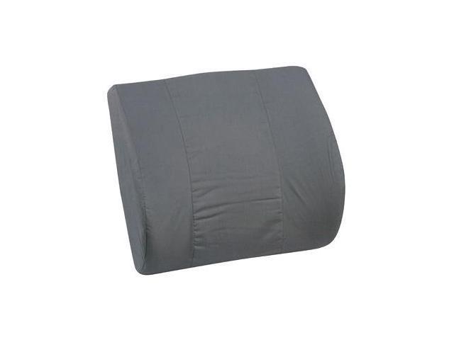 Mabis 555-7921-0200 Memory Foam Lumbar Cushion - Black