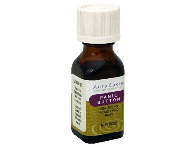 Essential Solutions Panic Button - Aura Cacia - 0.5 oz - Liquid