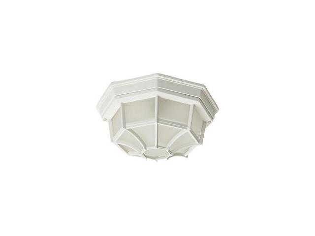 Maxim Lighting Crown Hill 2-Light Outdoor Ceiling Mount White - 1020WT