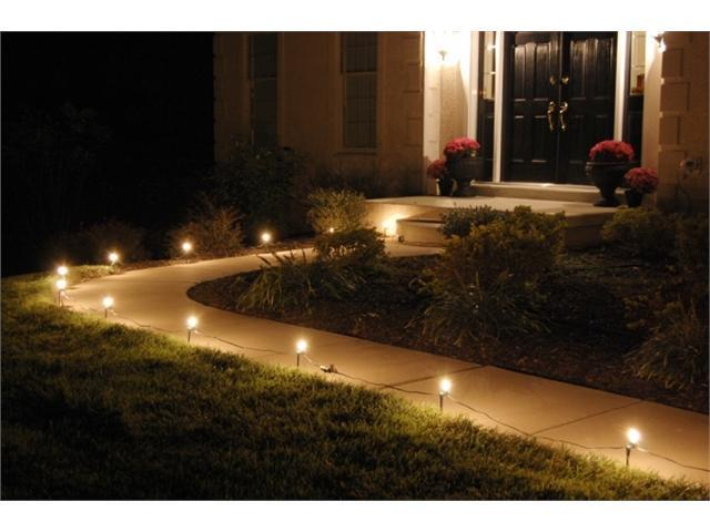 JH Specialties 61010 10- Count Pathway Lights- Clear