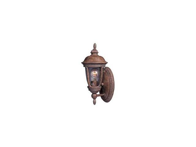 Maxim Knob Hill Cast 1-Light Outdoor Wall Lantern Sienna - 3462CDSE