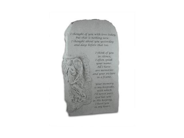 Kay Berry- Inc. 27320 I Thought Of You - Memorial - 23 Inches x 13.5 Inches x 5 Inches
