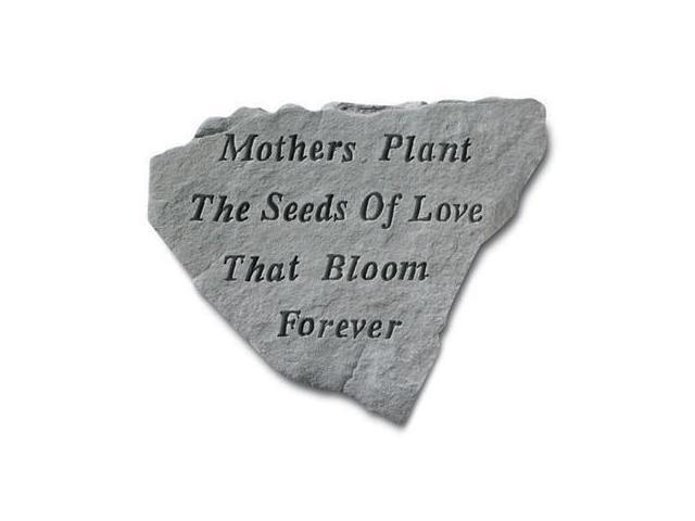 Kay Berry- Inc. 67420 Mothers Plant The Seeds Of Love That Bloom Forever - Memorial - 14.5 Inches x 12.75 Inches
