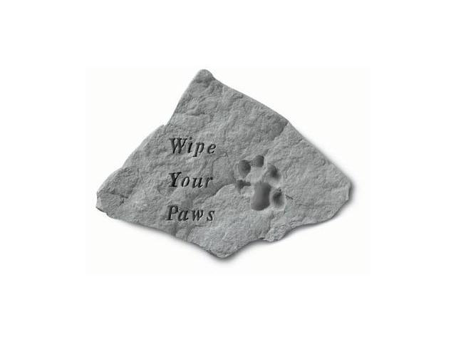 Kay Berry- Inc. 69020 Wipe Your Paws - Garden Accent - 14.5 Inches x 12 Inches