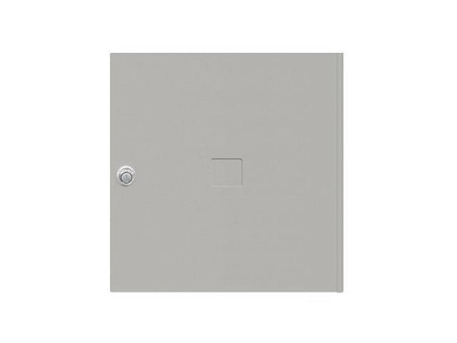 Salsbury Industries 3454GRY Replacement Door and Lock with 3 Keys - Standard MB4 Size - Gray