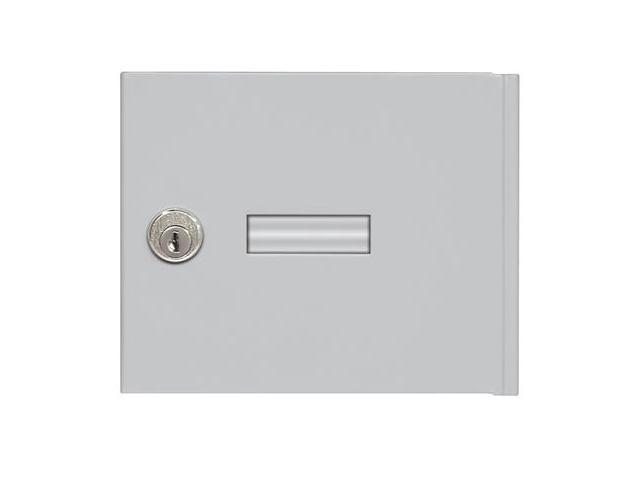 Salsbury Industries 3651ALM Replacement Door and Lock - Standard A Size - for 4B+ Horizontal Mailbox - with (2) Keys - Aluminum