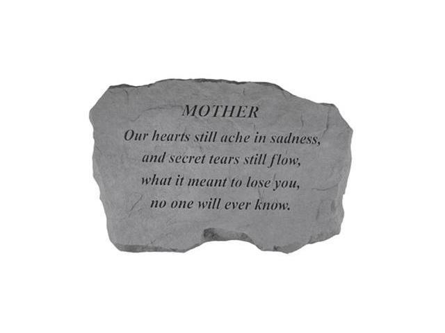 Kay Berry- Inc. 98620 Mother-Our Hearts Still Ache In Sadness - Memorial - 16 Inches x 10.5 Inches x 1.5 Inches