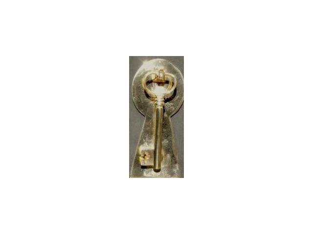 Mayer Mill Brass - KEY-1 - Key Door Knocker