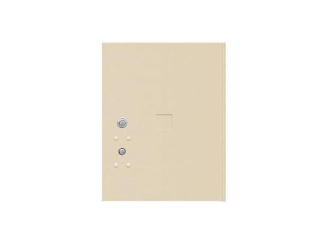 Salsbury Industries 3455SAN 17.25 in. H Replacement Parcel Locker Door and Tenant Lock with 3 Keys - Sandstone