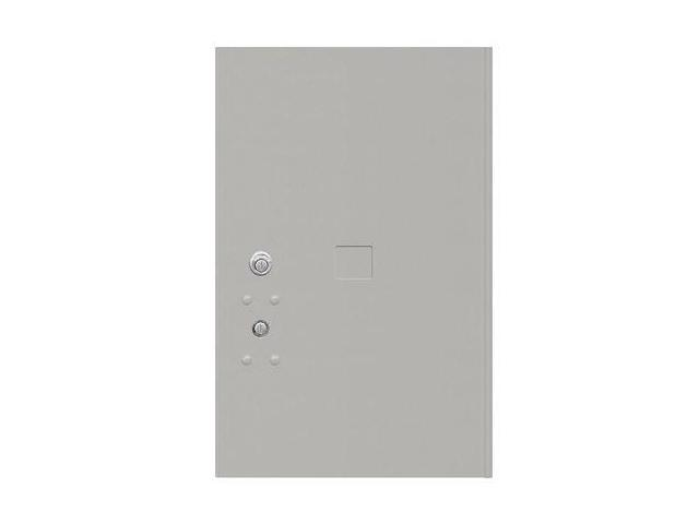Salsbury Industries 3456GRY 20.75 in. H Replacement Parcel Locker Door and Tenant Lock with 3 Keys - Gray