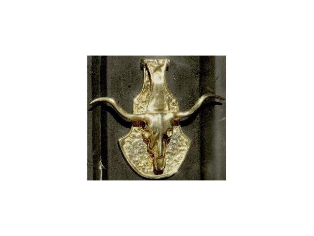 Mayer Mill Brass - STK-1 - Long Horn Steer Door Knocker