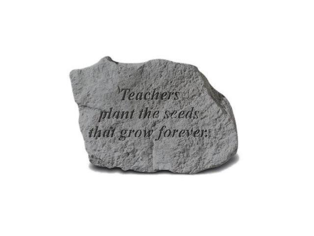 Kay Berry- Inc. 73020 Teachers Plant The Seeds That Grow Forever - Memorial - 5 Inches x 3.25 Inches