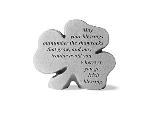 Kay Berry- Inc. 88520 May Your Blessings Outnumber - Garden Accent - 6.75 Inches x 6 Inches