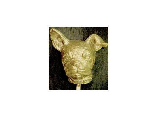 Mayer Mill Brass - DOK-BB - Boston Bull Door Knocker